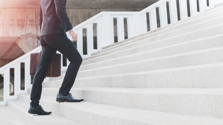 When the stairway to the office seems endless...it is time to get help for work-related anxiety